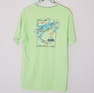 Southern Tide Green Crab Catch of the Day T-Shirt